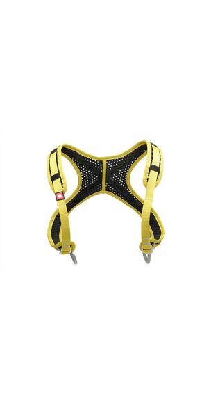 Ocun WeBee Chest - Arnés de escalada - amarillo/negro